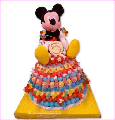 Snoeptaart Mickey
