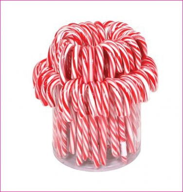 Candy canes rood wit
