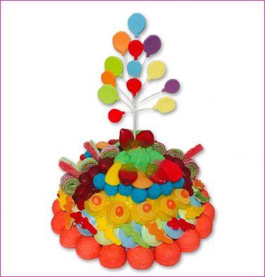 Snoeptaart ballonnen