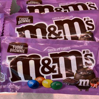 M&M's Fudge Brownie