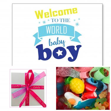 Candy Box ⎜Geboorte Boy