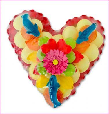 Snoeptaart colorfull LOVE