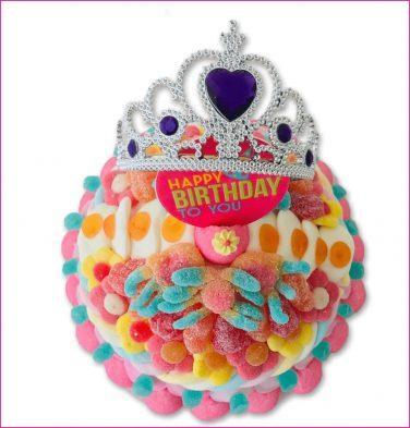 Snoeptaart Verjaardag