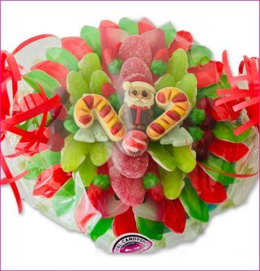 Santa Candy Cane snoeptaart