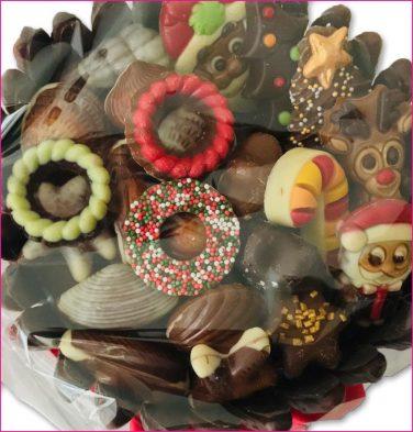 X-MAS Chocolade taart