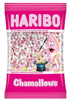Chamallows mini wit roze
