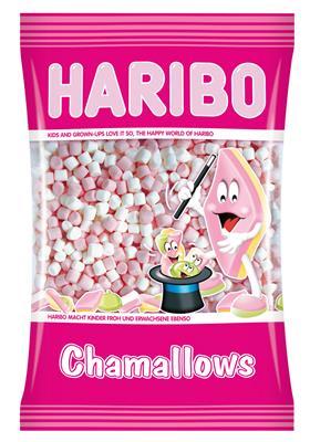 Chamallows mini wit roze