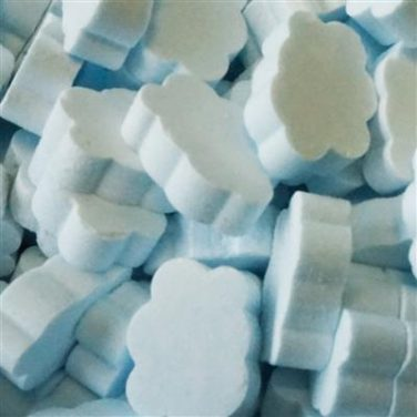 Dextrose wolkjes blauw