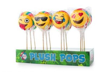 Pluch pop emoticon