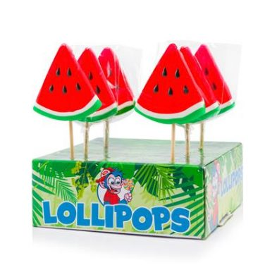 Watermeloen lollypop