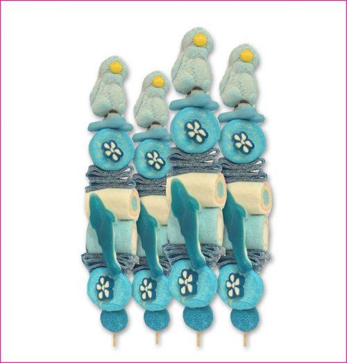 Snoepbrochette Blue