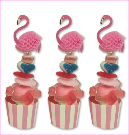 Cupcake Flamingo