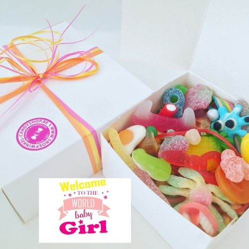 Candy Box ⎜Welcome to the world baby girl