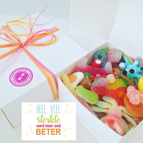 Candy Box ⎜Heel veel sterkte word maar snel beter