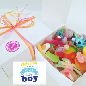 Candy Box ⎜Welcome to the world baby boy