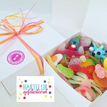 Candy Box ⎜Hartelijk gefeliciteerd