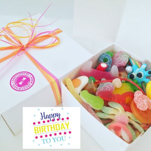 Candy Box ⎜Happy birthday to you