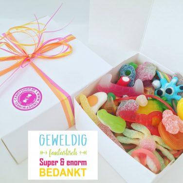 Candy Box ⎜Geweldig fantastisch super en enorm bedankt