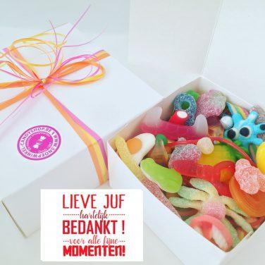 Candy Box ⎜Lieve juf, hartelijk bedankt voor alle fijne momenten