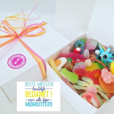 Candy Box ⎜Beste meester, hartelijk dank voor alle fijne momenten