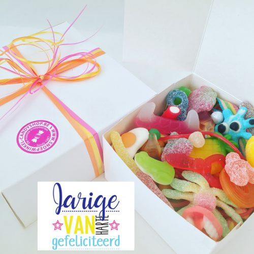 Candy Box ⎜Jarige, van harte gefeliciteerd