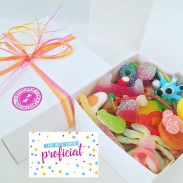 Candy Box ⎜Een hele dikke proficiat