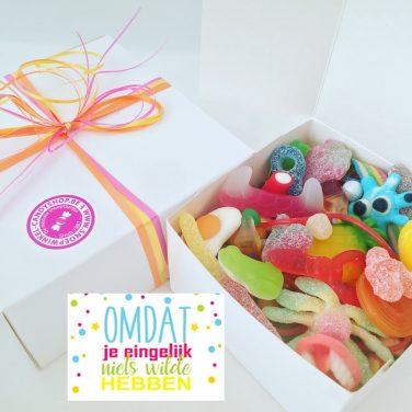 Candy Box ⎜Omdat je eigenlijk niets wilde hebben