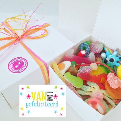 Candy Box ⎜Van harte gefeliciteerd