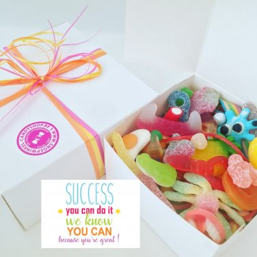 Candy Box ⎜Succes, you can do it, we know you can, because you're great!