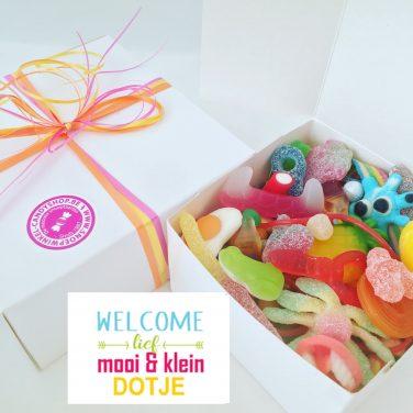 Candy Box ⎜Welcome lief mooi en klein dotje
