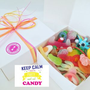Candy Box ⎜Keep calm, lets party and eat candy