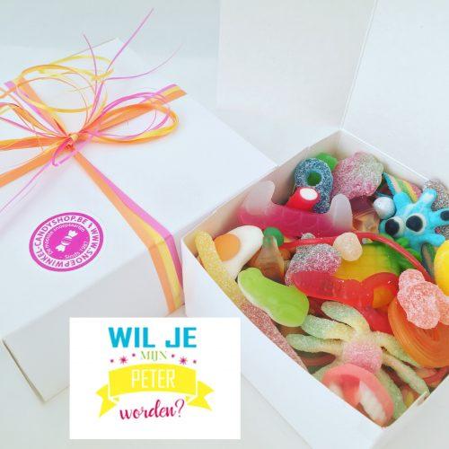 Candy Box ⎜Wil je mijn peter worden?