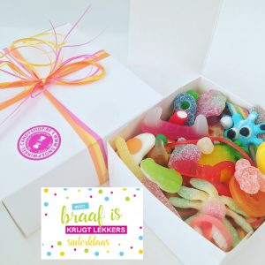 Candy Box ⎜Wie braaf is krijgt lekkers