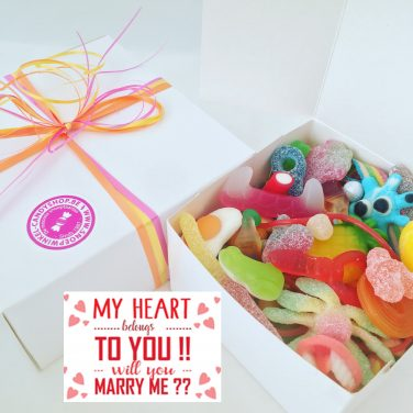 Candy Box ⎜My heart belongs to you, will you marry me?