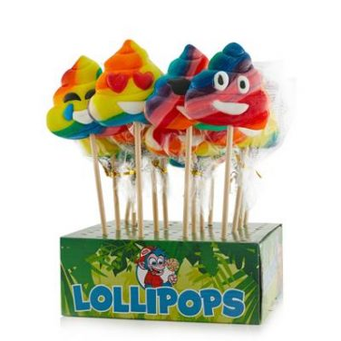 rainbow poo pop