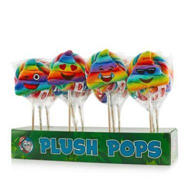 Pluche pop rainbow poo's