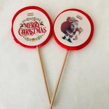 Kerst lolly
