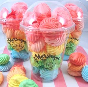 Meringue cup