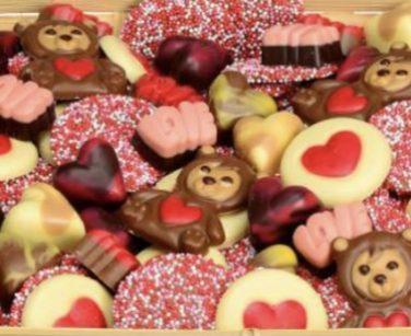 Valentijn chocolade assortiment