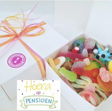 Candy Box ⎜Hoera op pensioen