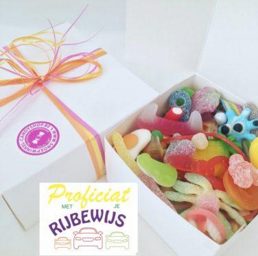 Candy Box ⎜Proficiat met je rijbewijs
