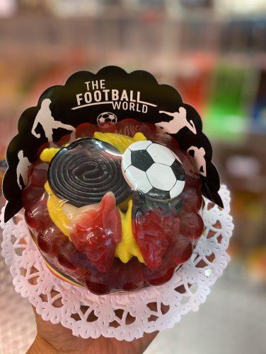 Snoeptaart Voetbal Courtois